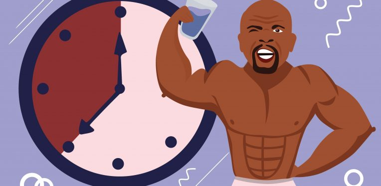 Terry Crews intermittent fasting