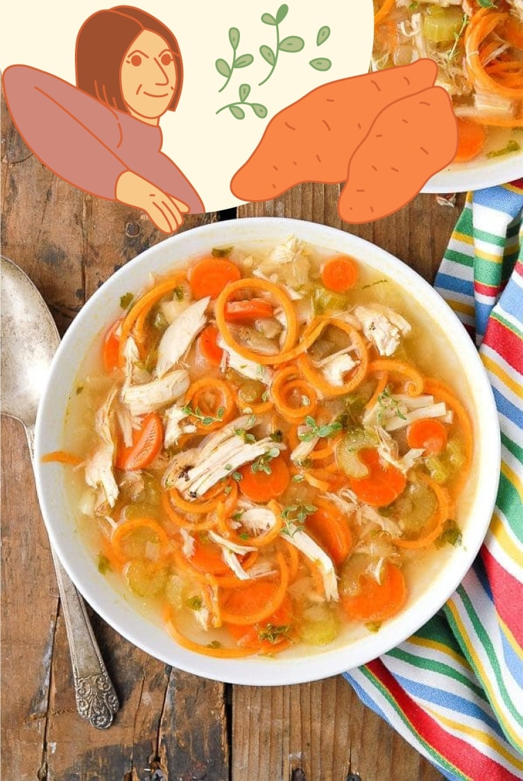 weight loss chicken soup