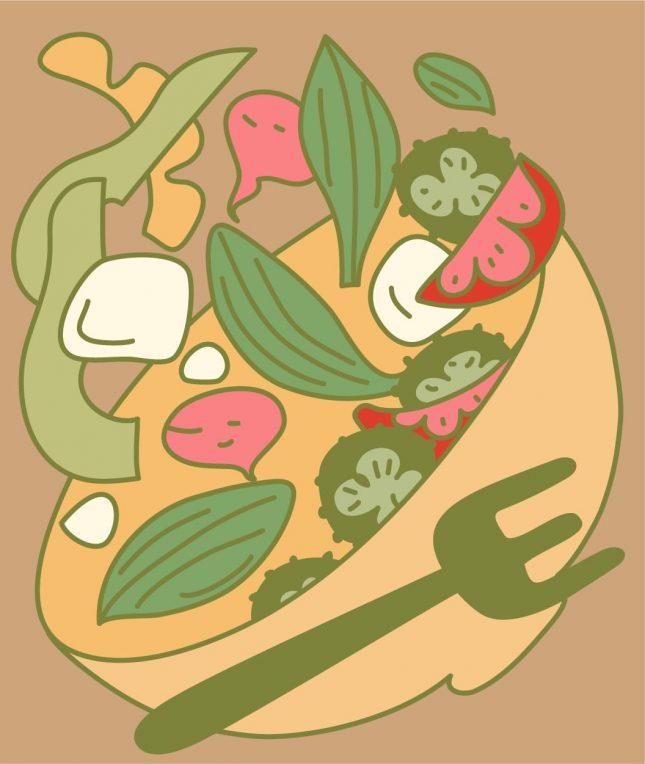 Mediterranean Madness Summer Salad