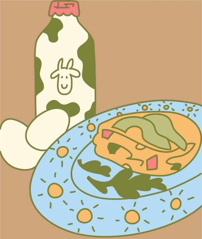 Veggie Baked Omelet