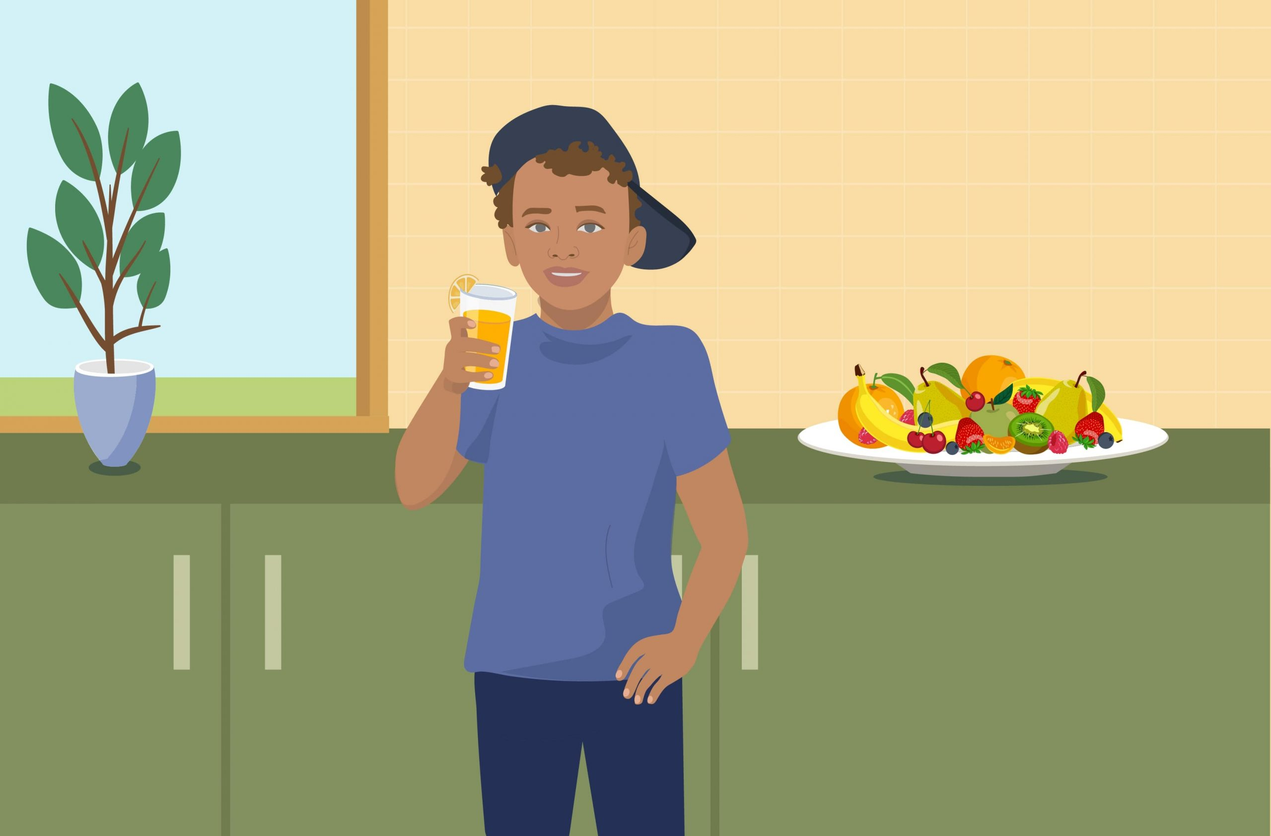 Drinking Fruit Juice Can Boost Fruit Consumption In Children