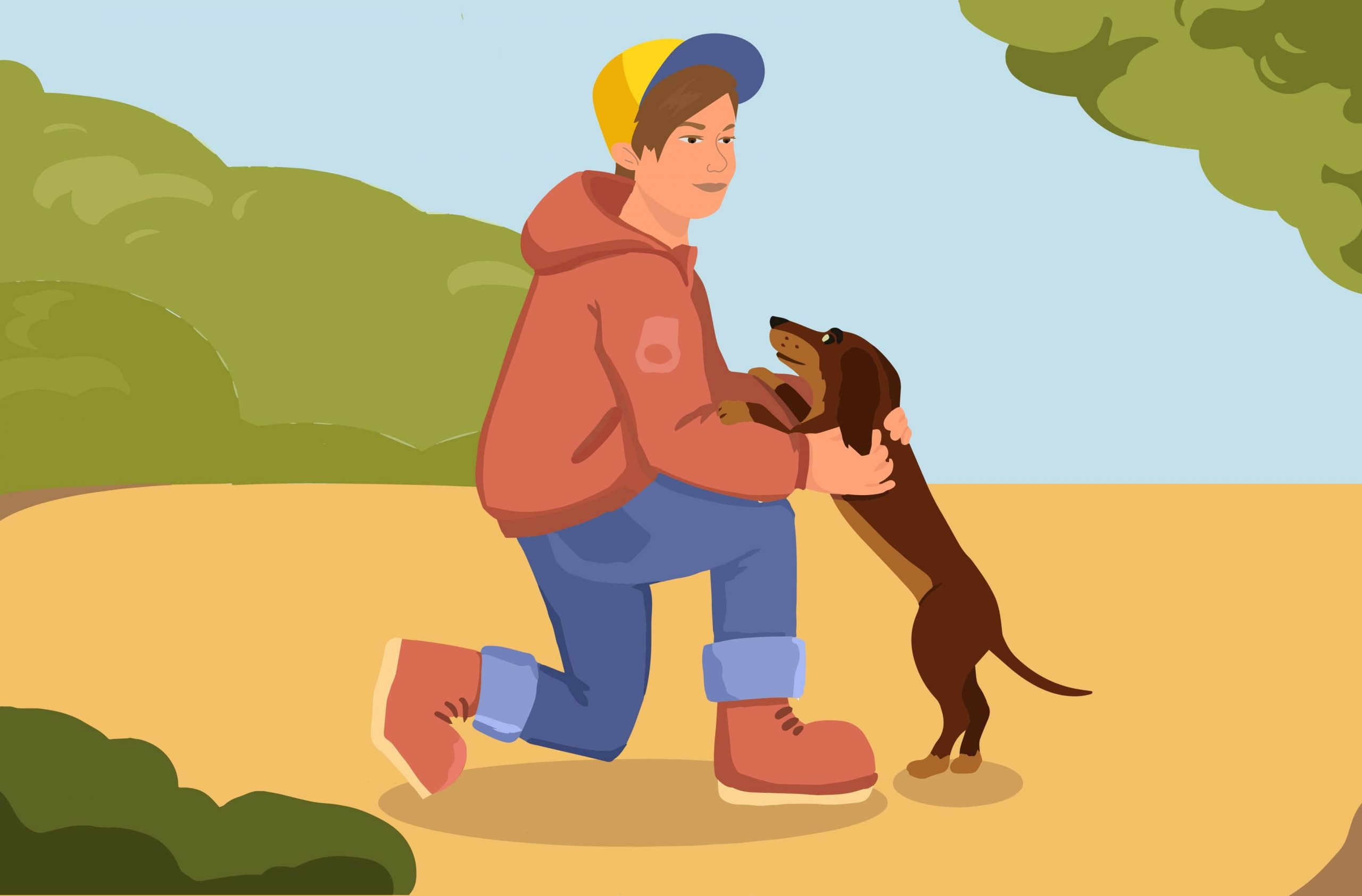 Owning A Dog Is Good For Children's Emotional Development