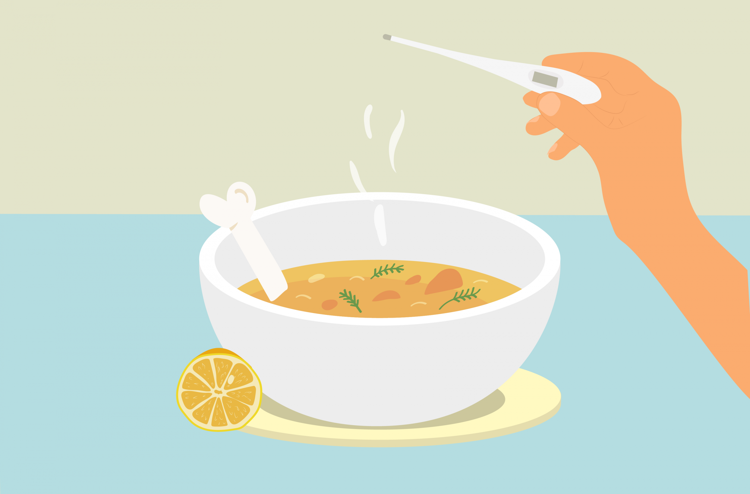 Treating Cold Symptoms with Bone Broth