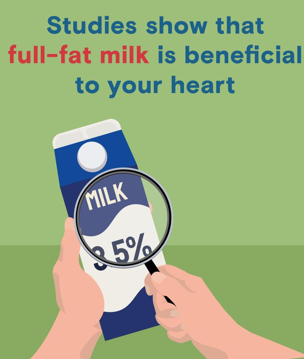 benefits of full-fat milk for your heart