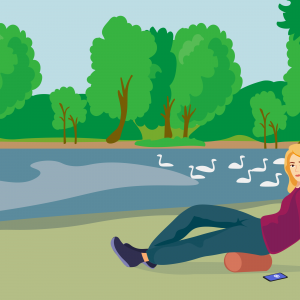 Green Spaces Improve Our Mental Health